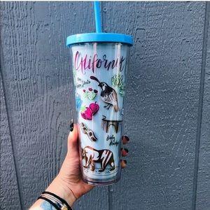 NWT Starbucks California 24oz travel mug tumbler